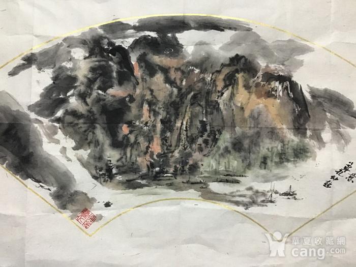 罗文华山水画图2