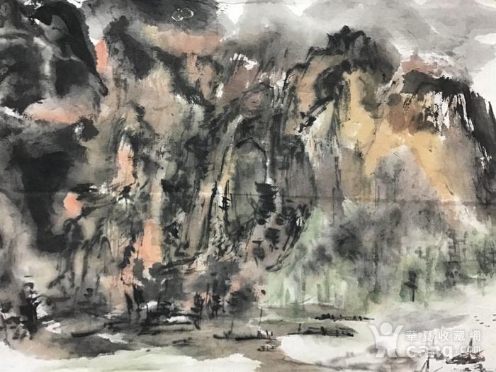 罗文华山水画图8