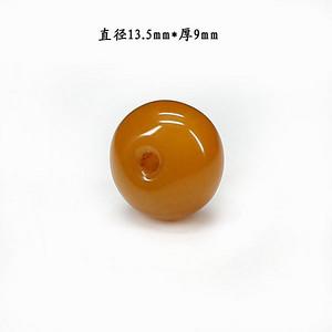 天然蜜蜡珠扣配饰9637