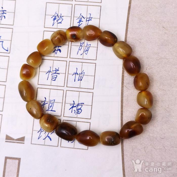 精品 10.55克红皮蜜蜡籽料手串图2