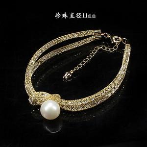 天然珍珠手链9677