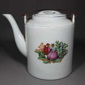 文革时期维多利亚人物提梁壶