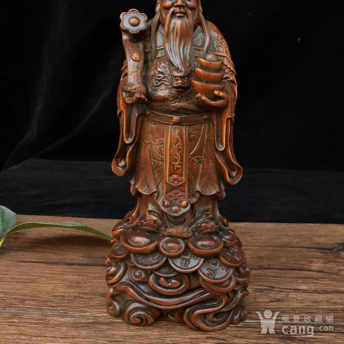 黄杨木 财神 图2
