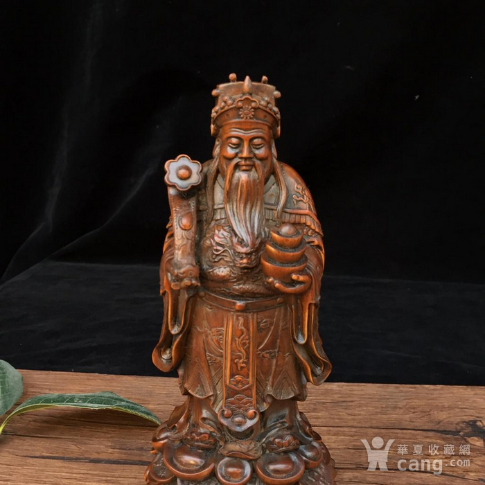 黄杨木 财神 图3