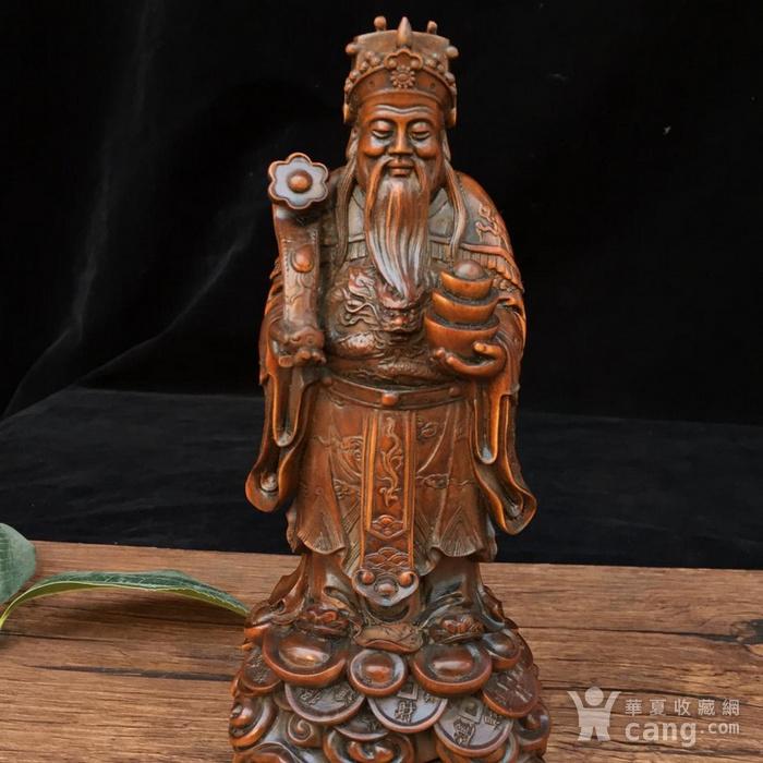 黄杨木 财神 图4