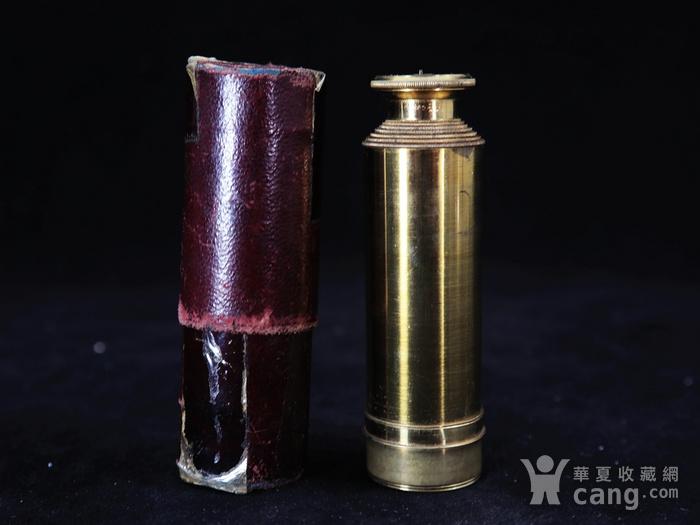 清代铜制单筒望远镜图5
