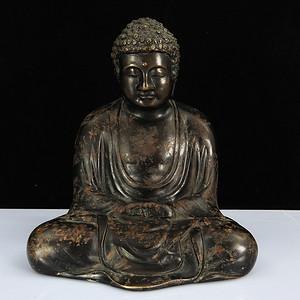 民国铜制释迦摩尼坐像
