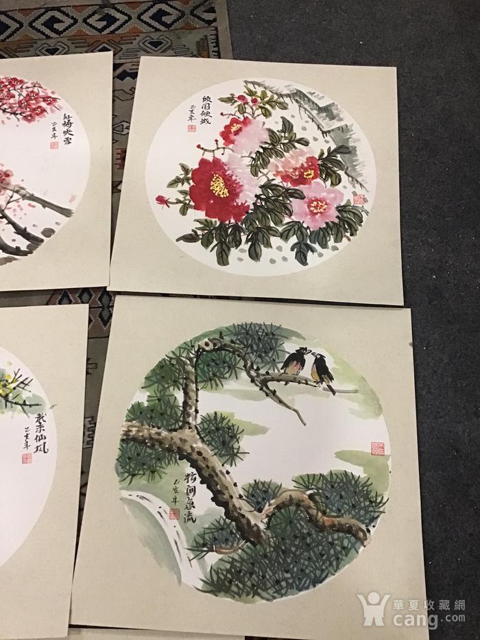 浙江老画家周宇华作品5件图3
