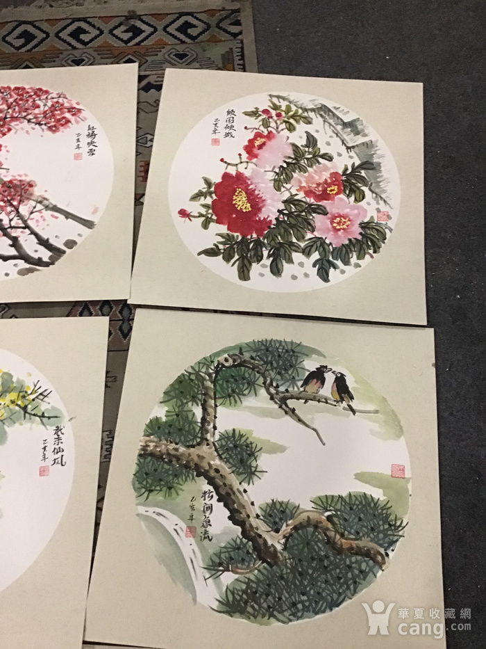 浙江老画家周宇华作品5件图4