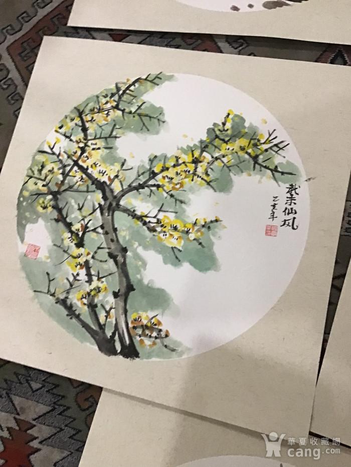 浙江老画家周宇华作品5件图6