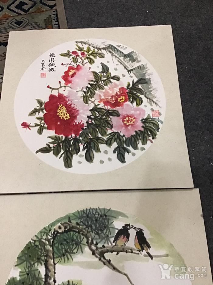 浙江老画家周宇华作品5件图8