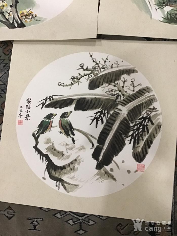 浙江老画家周宇华作品5件图9