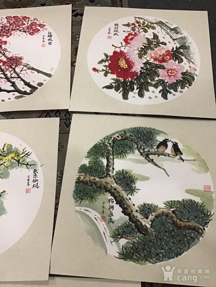 浙江老画家周宇华作品5件图10