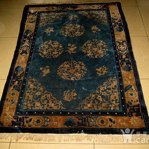 清代老地毯