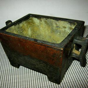 日本回流精品大铜炉