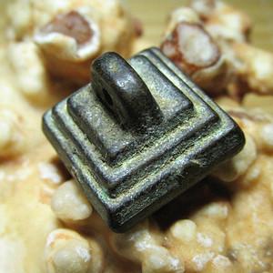 唐 铜质 精工铸造 塔型 耕耘 文房暗记 印章