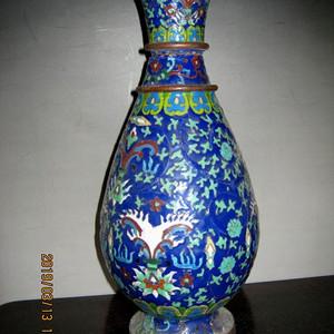 民国景泰蓝瓶子