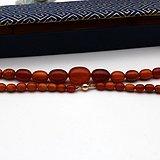 149百年老蜜蜡桶珠项链一条