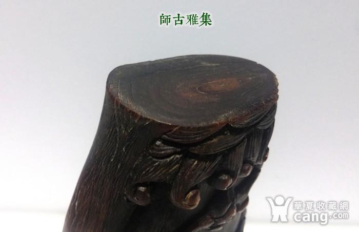 重器  明 角雕梅花杯圖4