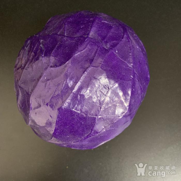 翡翠绀青紫白菜图2