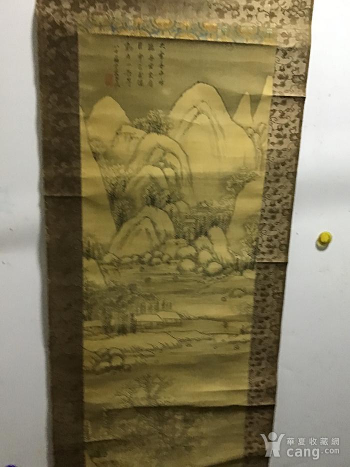 回流清中早期 绢本雪景图11