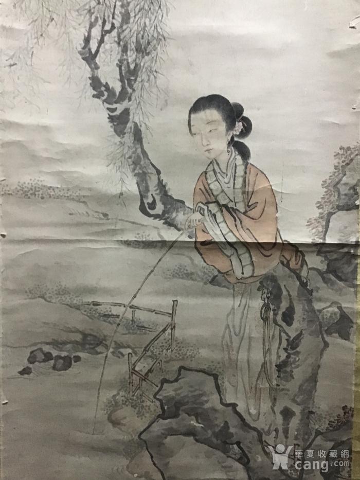 清代费丹旭仕女图图1