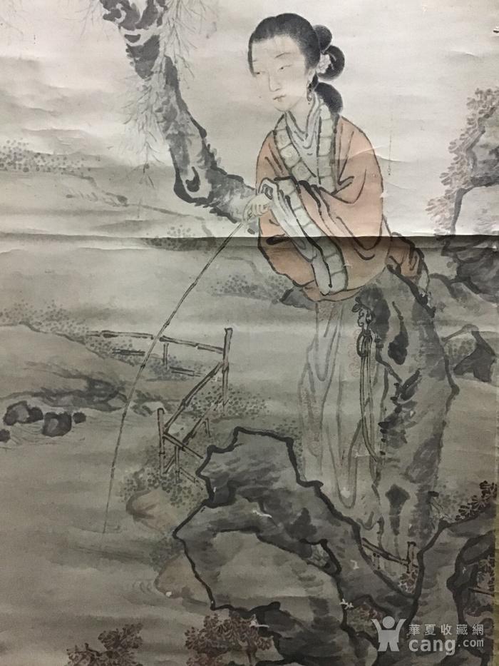 清代费丹旭仕女图图4