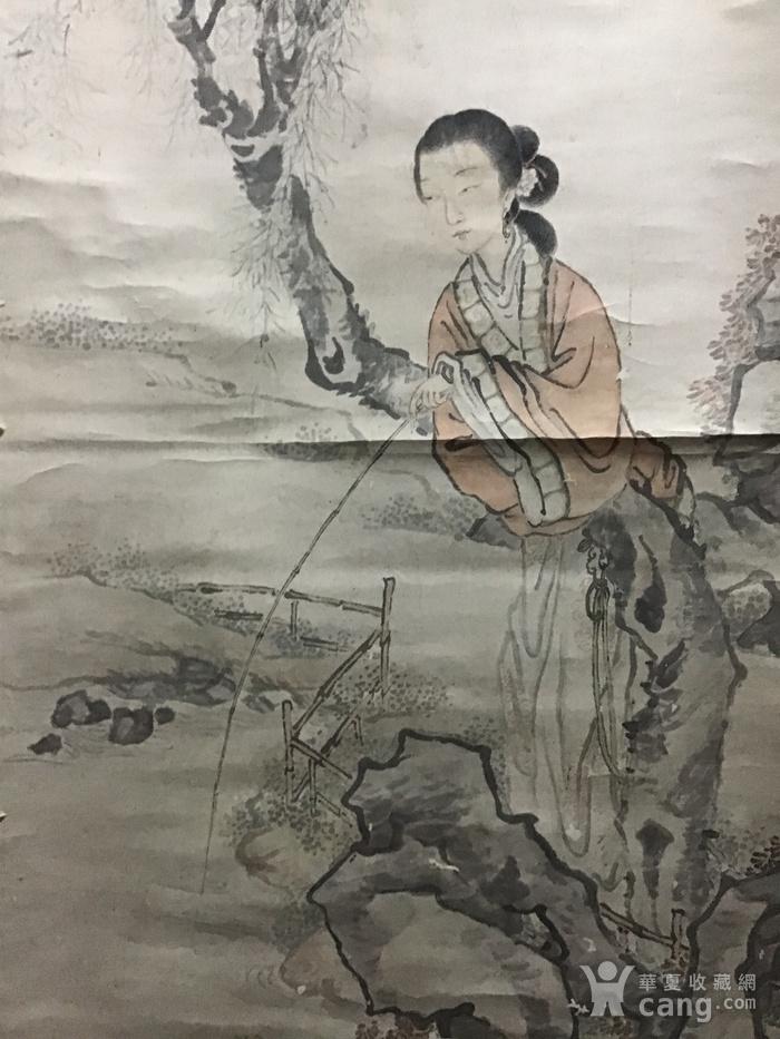 清代费丹旭仕女图图8