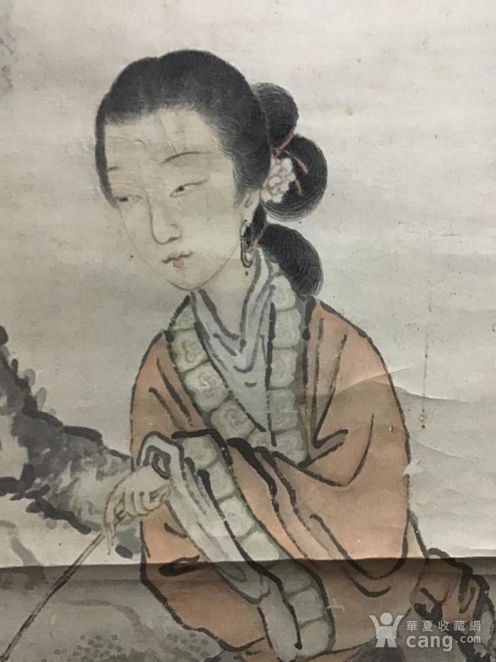 清代费丹旭仕女图图2