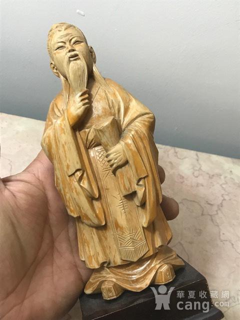 9005 黄杨木雕老子像图2