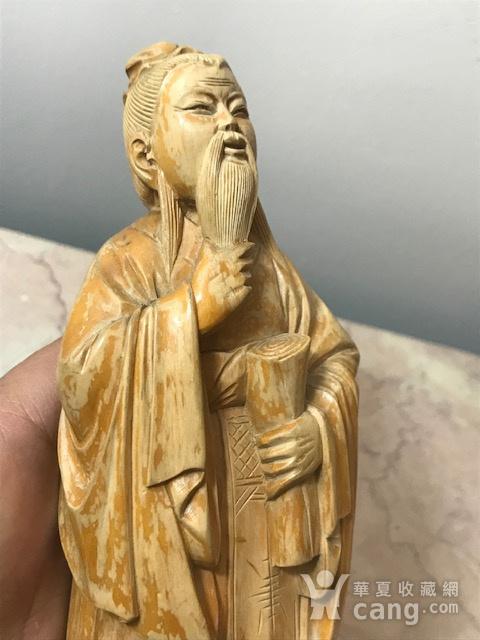 9005 黄杨木雕老子像图3