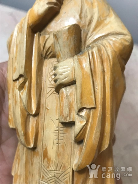 9005 黄杨木雕老子像图6