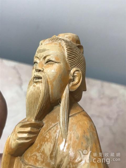 9005 黄杨木雕老子像图5