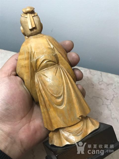 9005 黄杨木雕老子像图7