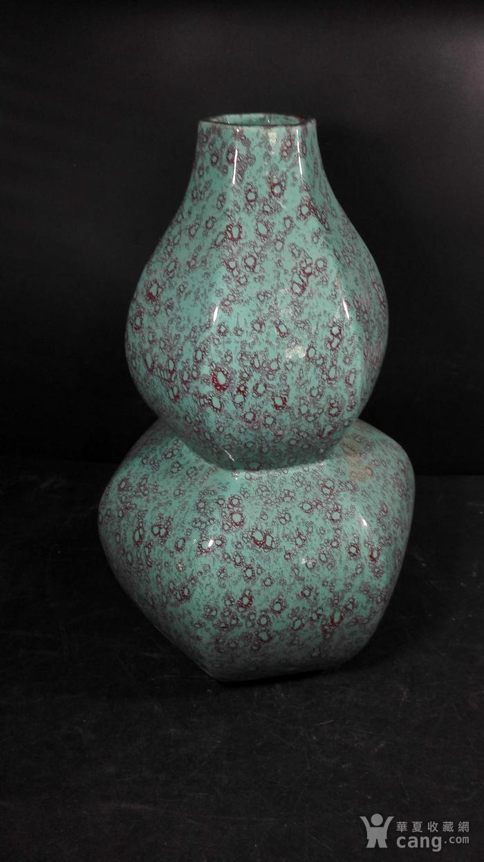 精品松石釉葫芦