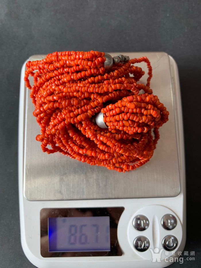 8080欧洲回流多股珊瑚项链图10