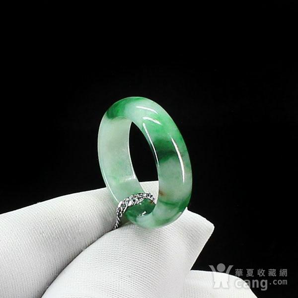 翠绿翡翠尾戒指环吊坠4511图5