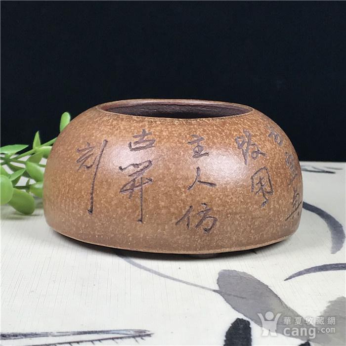 日本回流 紫砂 文玩水盂图4
