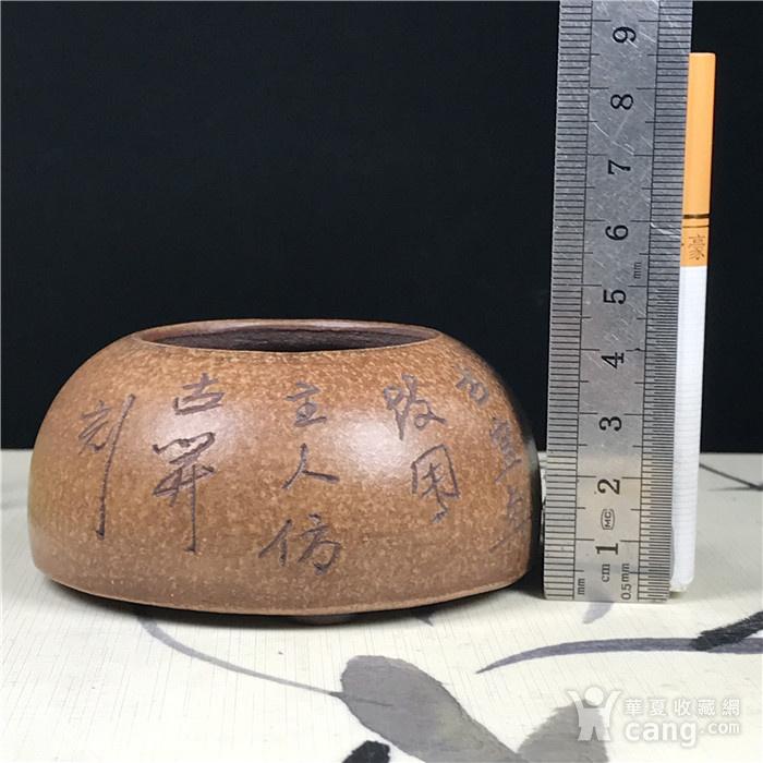 日本回流 紫砂 文玩水盂图8