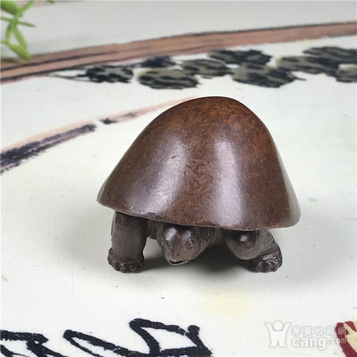日本回流 铜器 乌龟图1