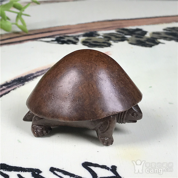 日本回流 铜器 乌龟图2