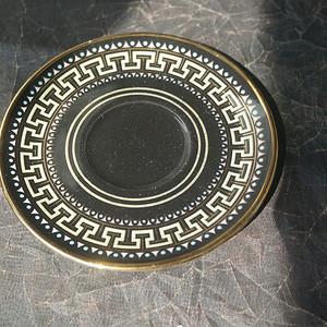 希臘24k金繪小盤 有底款