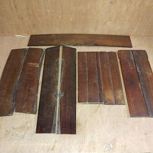 红酸枝家具板一组