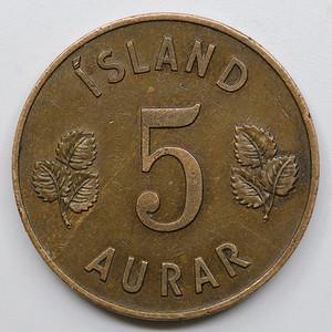 1946年冰岛5奥拉硬币